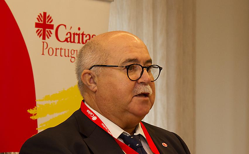 Eugénio da Fonseca, presidente da Cáritas Portuguesa