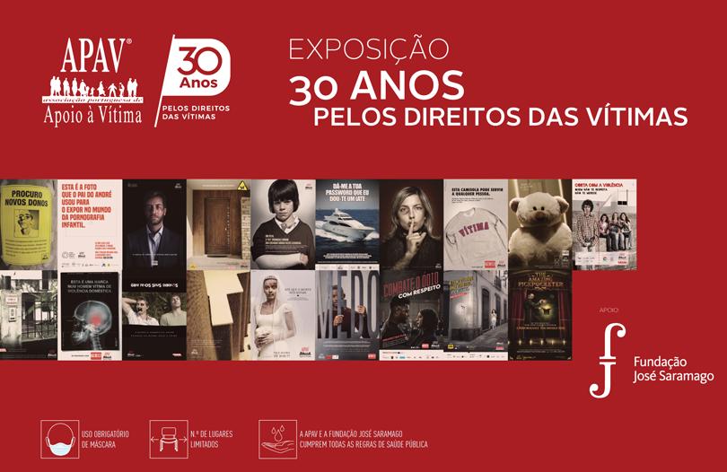 Exposição 30 anos APAV
