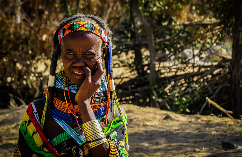 mulher africa