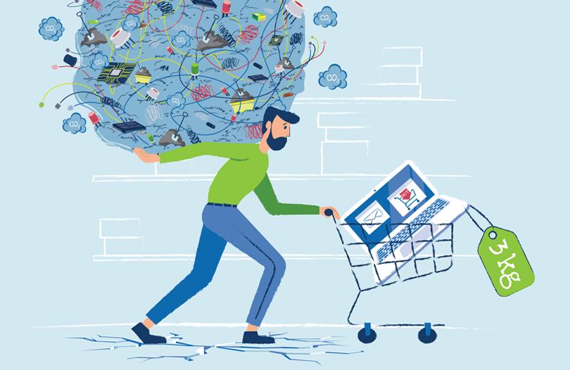 cartaz semana europeia prevenção resíduos