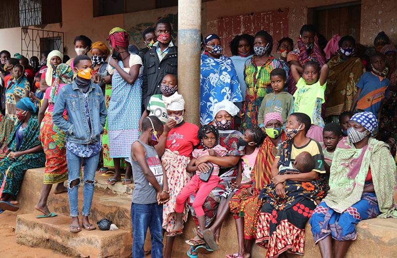 Moçambique deslocados